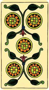 La vía del Tarot. por Alejandro Jodorowski Tarot-marsella-oros-05