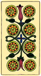 La vía del Tarot. por Alejandro Jodorowski Tarot-marsella-oros-08