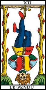 La vía del Tarot. por Alejandro Jodorowski Elcolgado-153x300