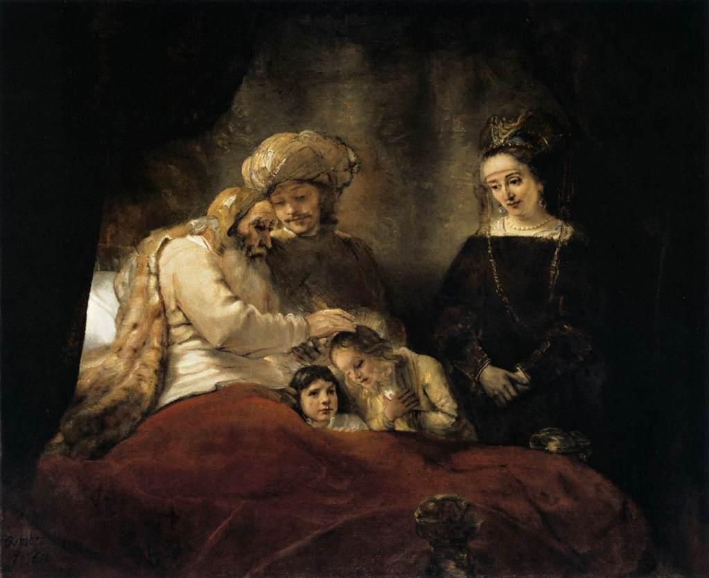 La Clave Secreta De Hiram - Christopher Knight - Página 2 20c-jacob-blessing-the-children-of-joseph-rembrandt