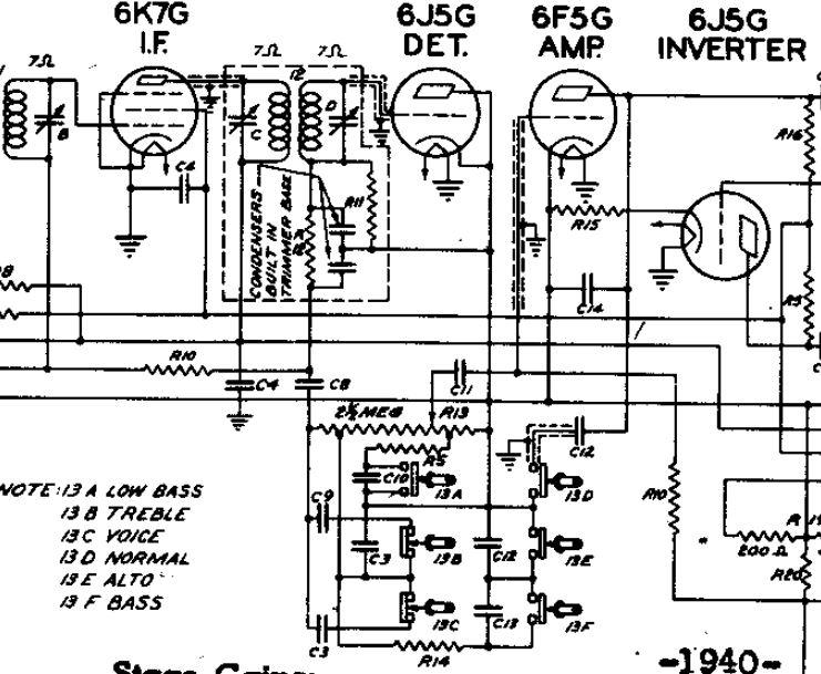 New volume/power switch on Zenith 10S567 Zenith1099_zps79cd427d