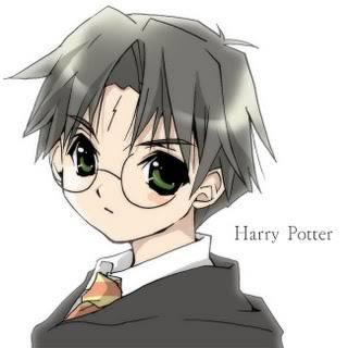 Harry Potter Anime xD HarryAnime