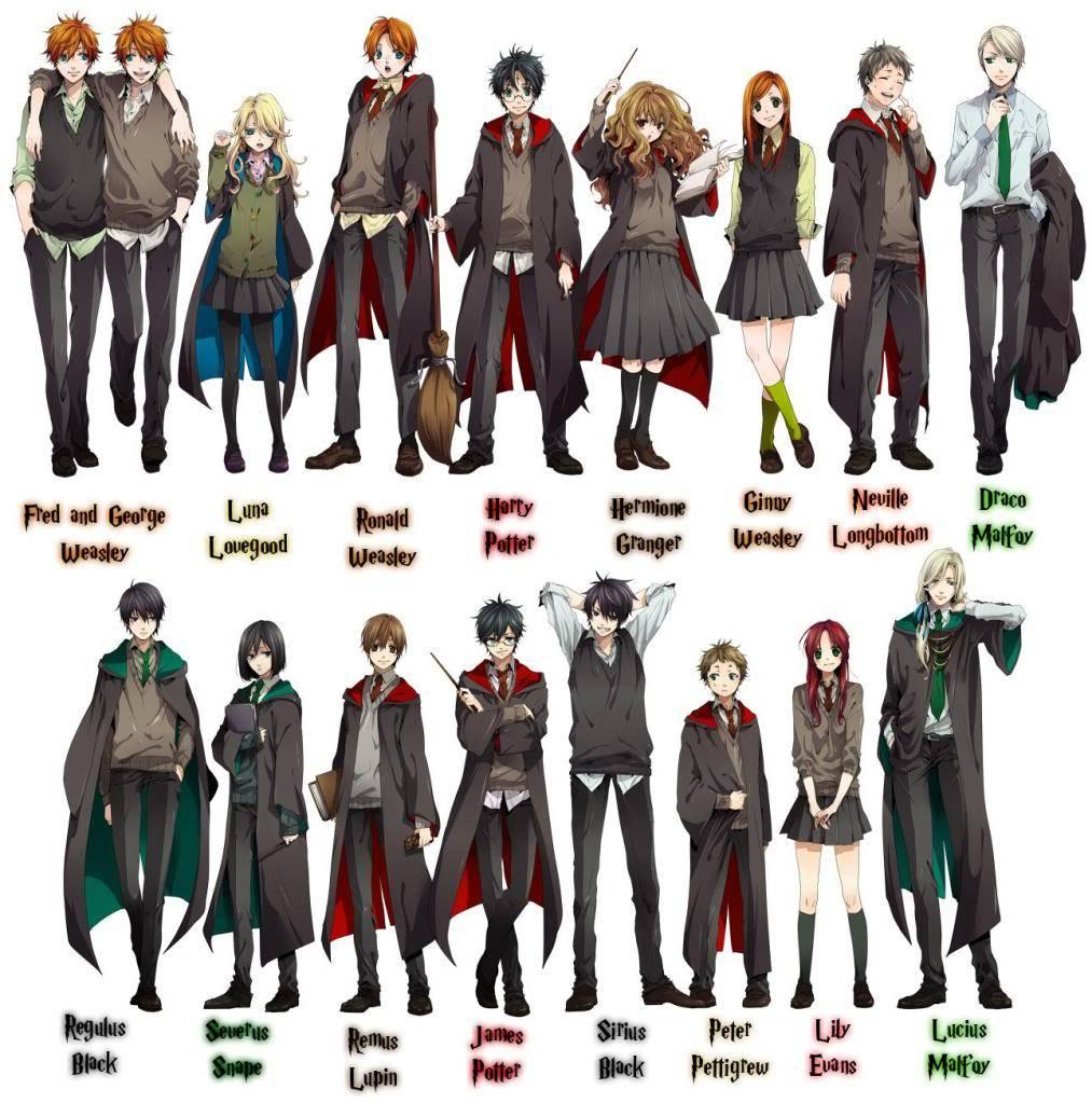 Harry Potter Anime xD Harry-potter-anime