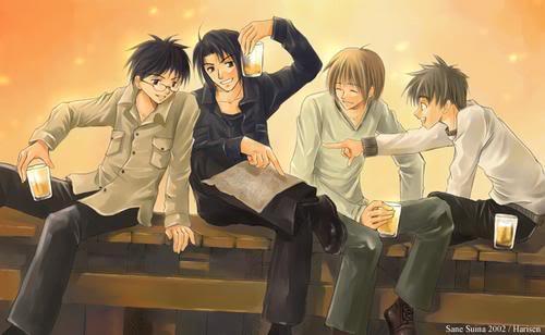 Harry Potter Anime xD Mauraders