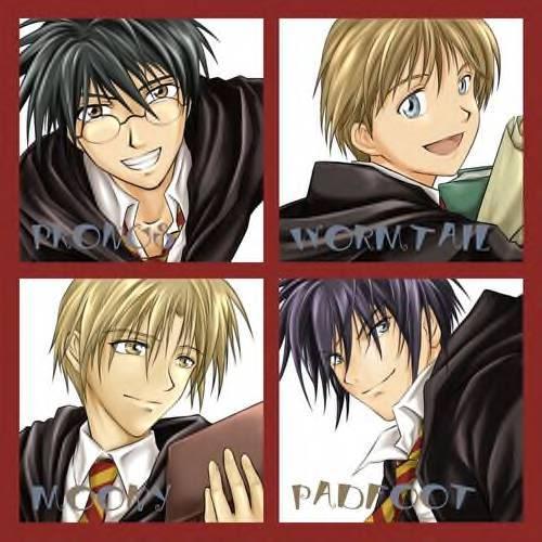 Harry Potter Anime xD The_Marauders