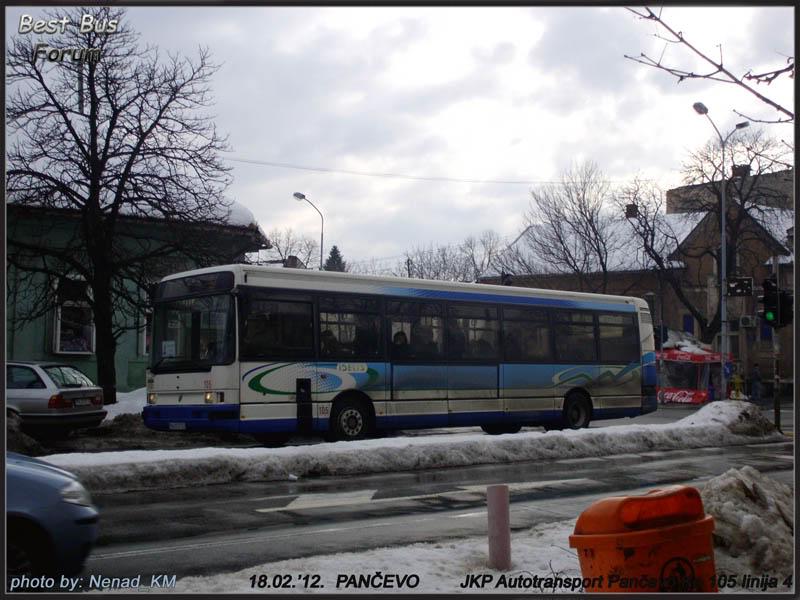 JKP Autotransport Pančevo ATP105