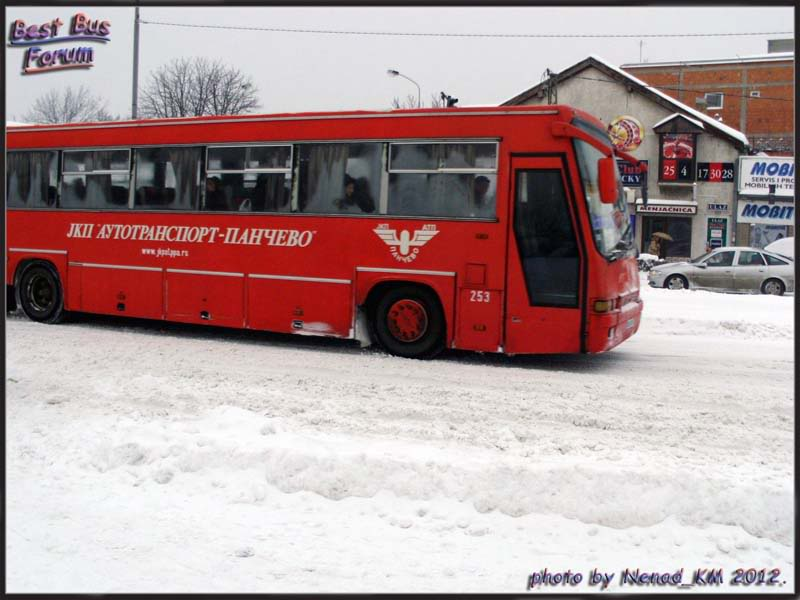 JKP Autotransport Pančevo ATP253