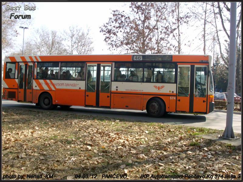 JKP Autotransport Pančevo ATP574