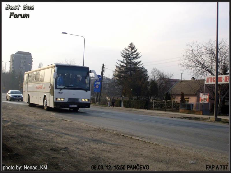 Jugoprevoz Kovin JugoprevozKovinFAPA737-1