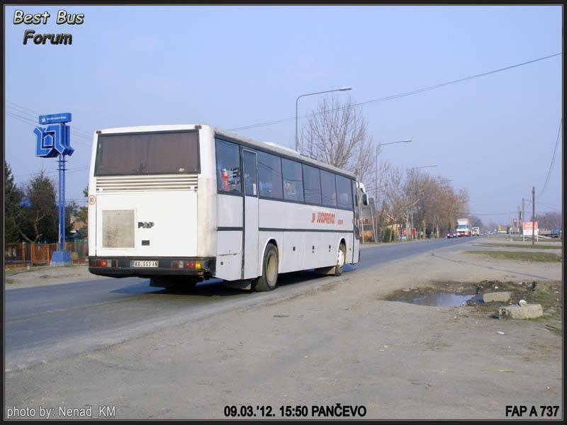 Jugoprevoz Kovin JugoprevozKovinFAPA737-2