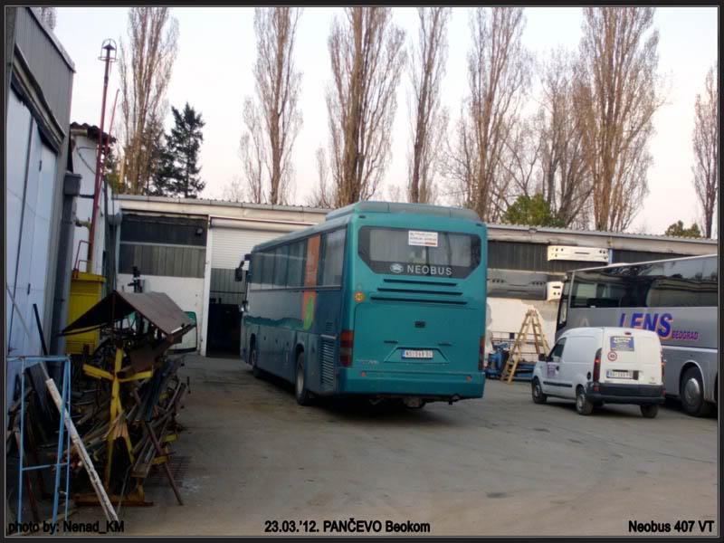 Ostali Prevoznici iz Srbije - Page 2 Neobus407VT