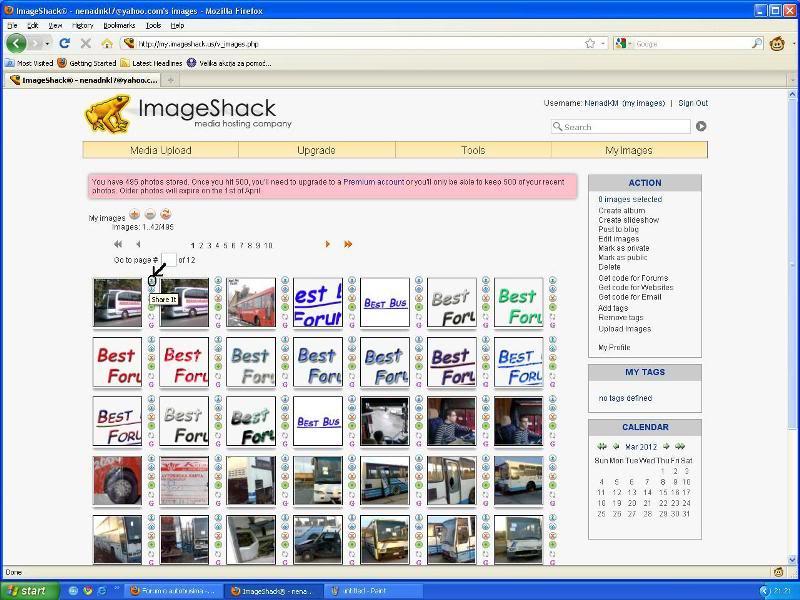 Uputstvo za postavljanje slika - Imageshack Imageshack4