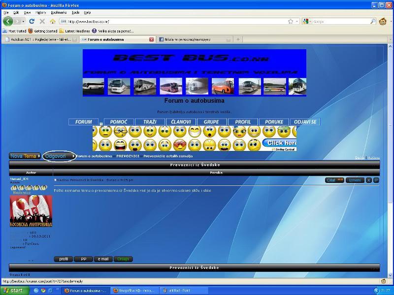 Uputstvo za postavljanje slika - Imageshack Imageshack6