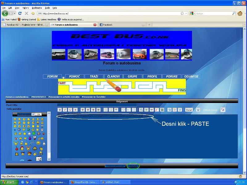 Uputstvo za postavljanje slika - Imageshack Imageshack7