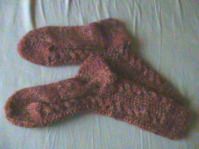 Provocare tricotat nr. 1 - Şosete, botoşei, jambiere. - Pagina 4 DSC00630-1