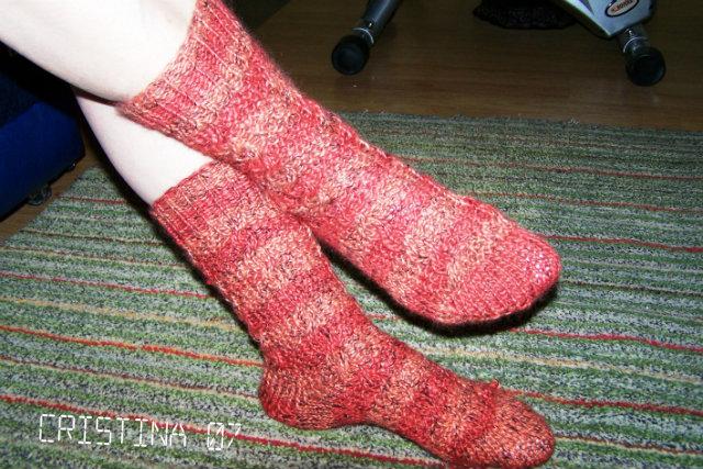 Provocare tricotat nr. 1 - Şosete, botoşei, jambiere. - Pagina 4 Sosete4