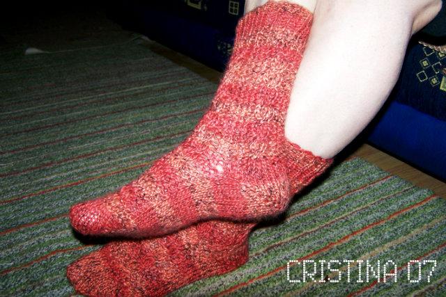 Provocare tricotat nr. 1 - Şosete, botoşei, jambiere. - Pagina 4 Sosete5