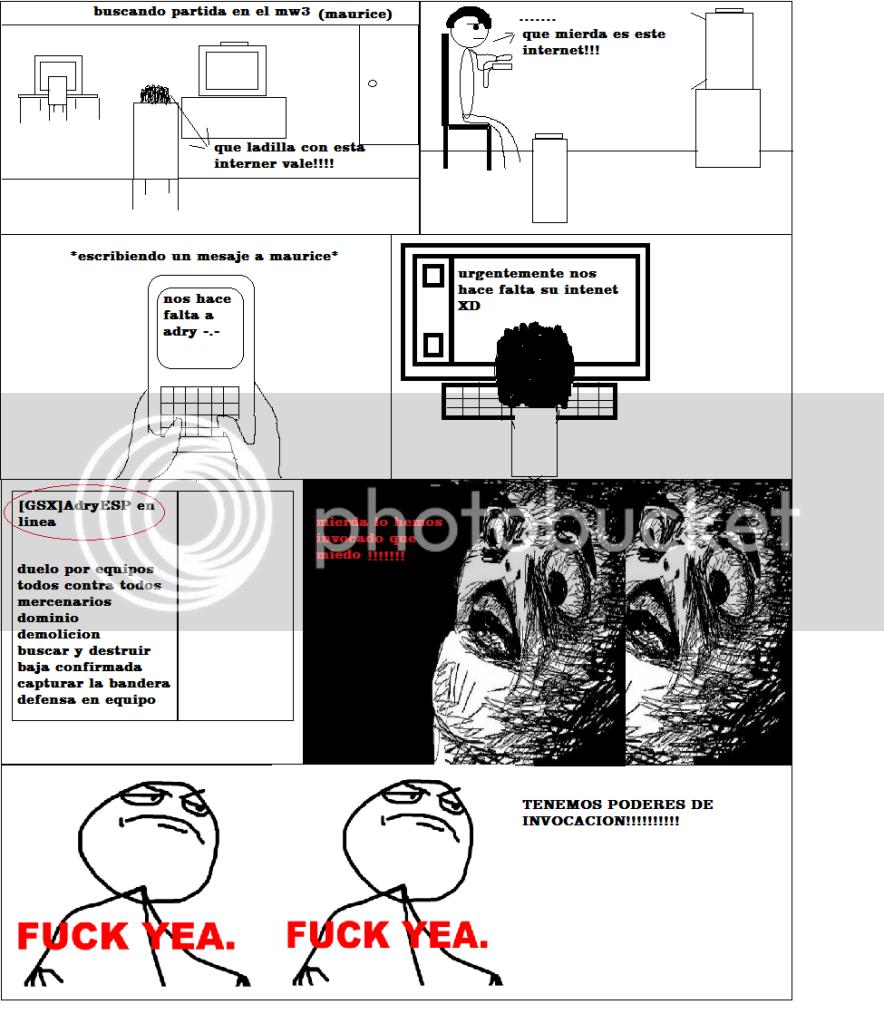 COMIC GSX (expericencias) Troll