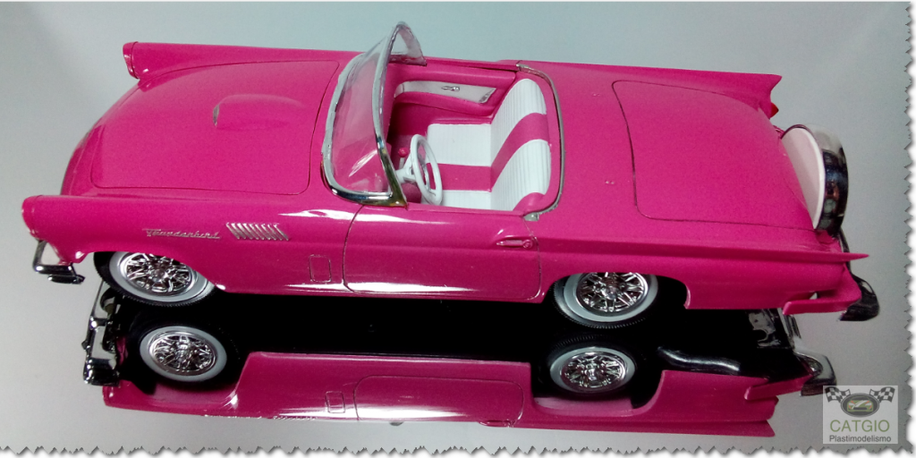 Ford Thunderbird 1957 - AMT - 01/25 - Finalizado 13_zps634a8975