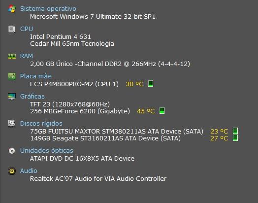 [Resolvido]Pc Desktop - alterações Specs