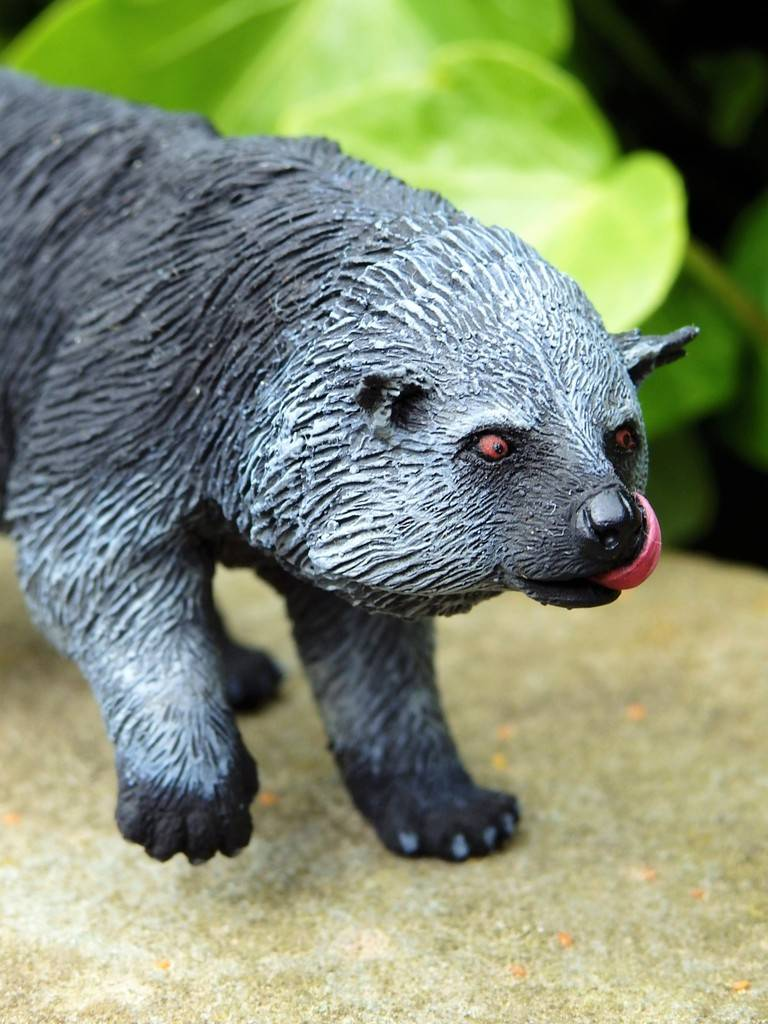 A lovely guy is arrived at home - 1:10 scale resin binturong from Arborium studio !  P5190298%202_zpsdmhxi7dg