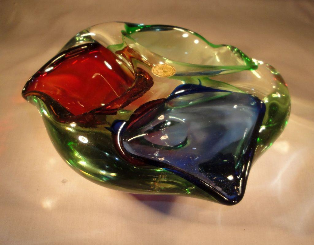 Heavy Glass Ashtray - blue/green/red Rom%20glass%20ash_zpso415oumk