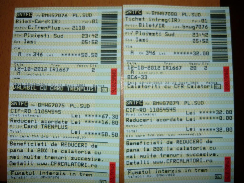 Diverse bilete de tren  P1050800