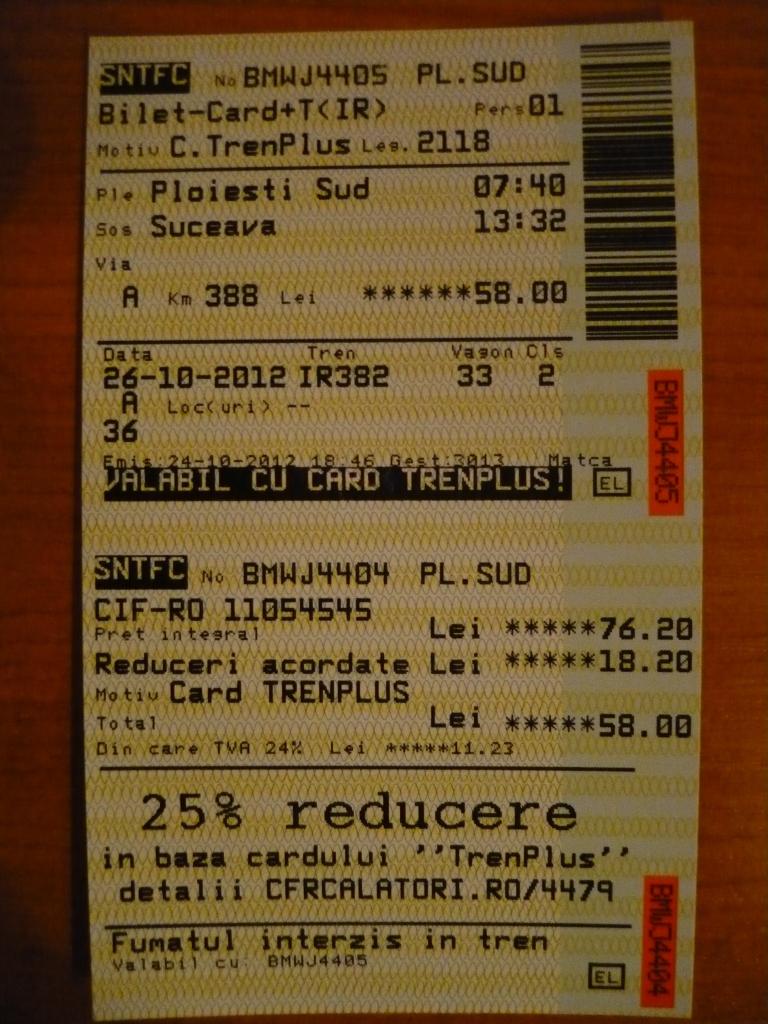 Diverse bilete de tren  P1050994
