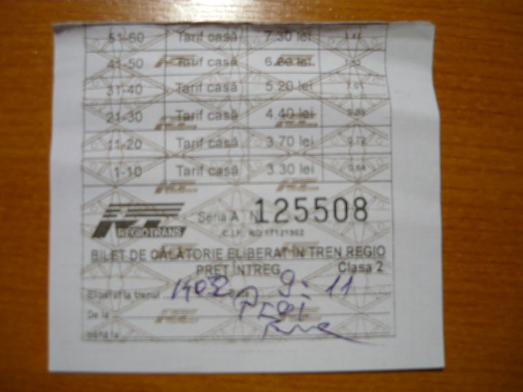 Diverse bilete de tren  P1060096