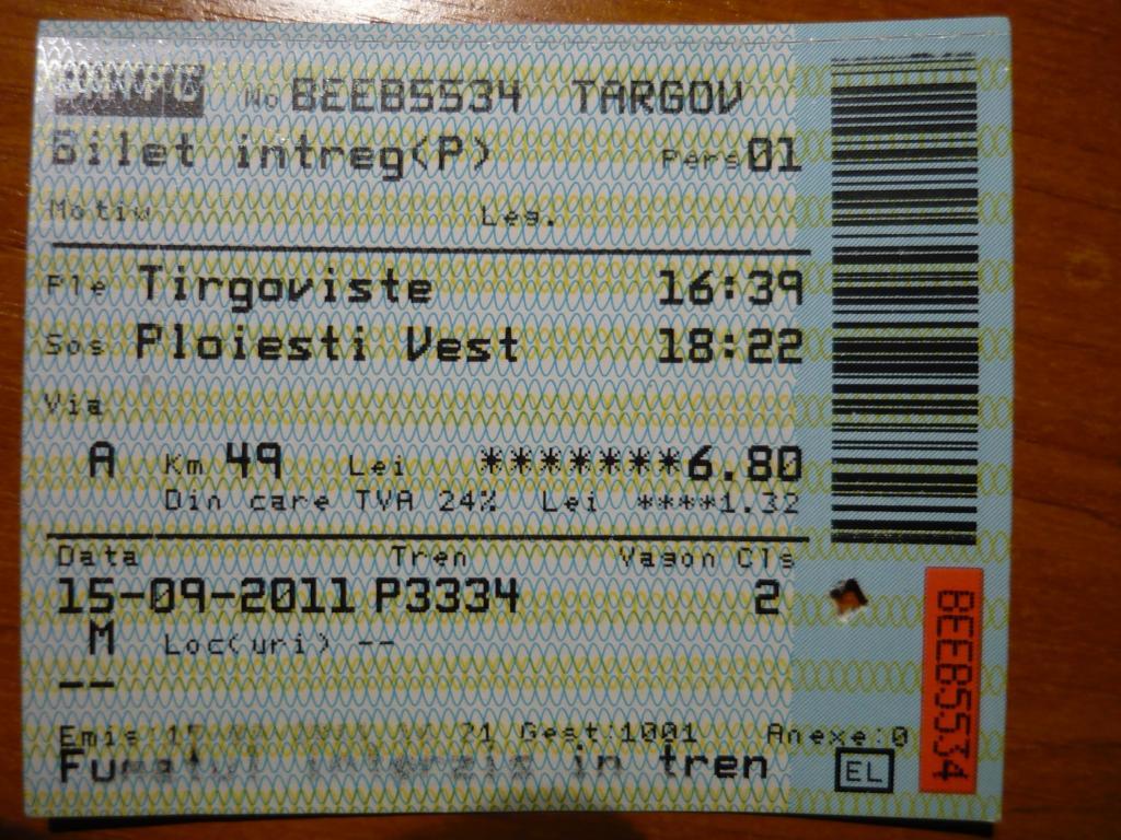 Diverse bilete de tren  P1060105