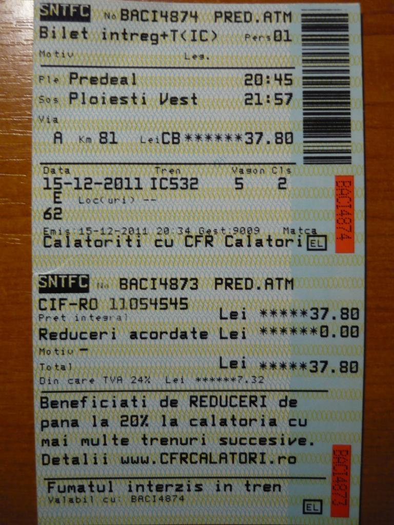 Diverse bilete de tren  P1060110
