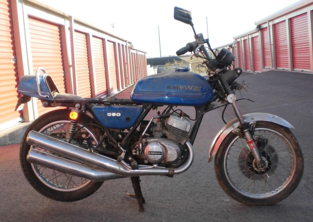 """1973 Kawasaki S2A 350 Triple - """"Barn Fresh"""" CopyofCIMG1483"""