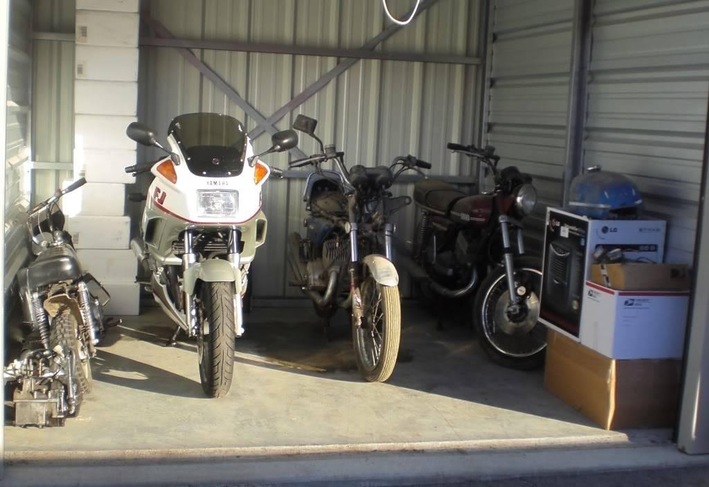 """1973 Kawasaki S2A 350 Triple - """"Barn Fresh"""" CopyofCIMG1493"""