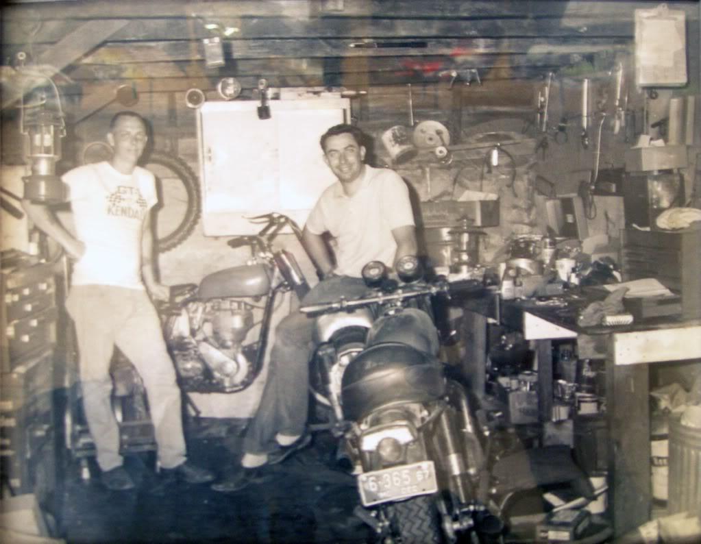 Old BSA Shop 1967