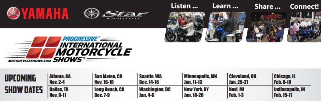 International Motorcycle Show Schedule ShowSchedule