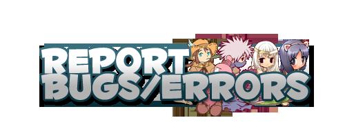 Bug & Error Reports