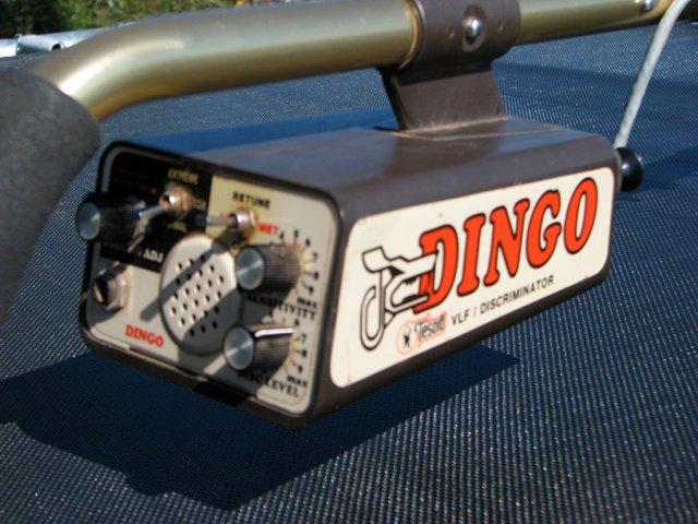 Variable resistance inside Tesoro Lobo Supertraq Dingo2