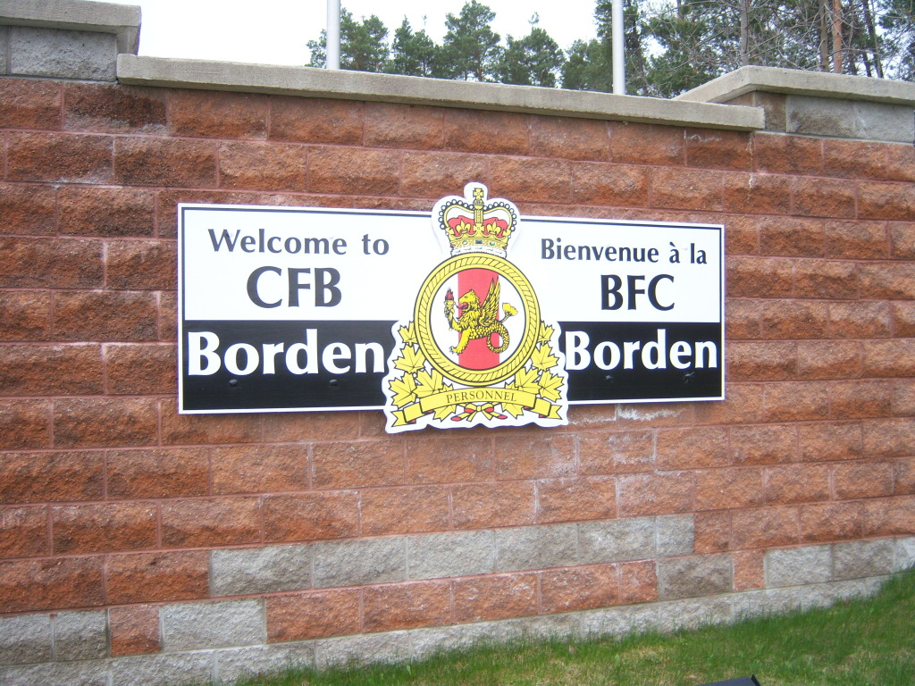 Armour at Candian Forces Base Borden 100_7173