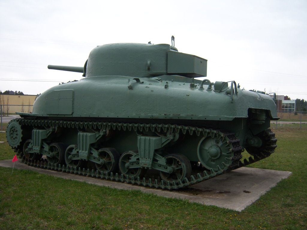 Armour at Candian Forces Base Borden 100_7176