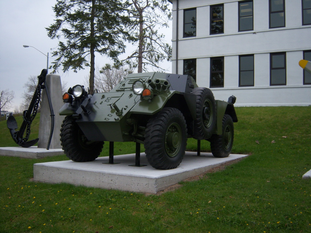 Armour at Candian Forces Base Borden 100_7185