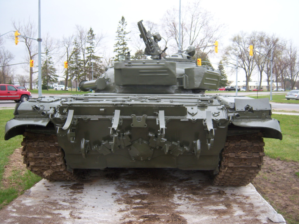 Armour at Candian Forces Base Borden 100_7190