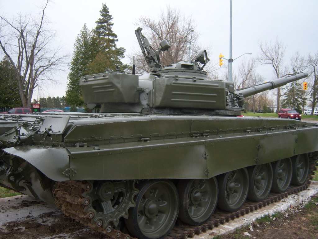 Armour at Candian Forces Base Borden 100_7191