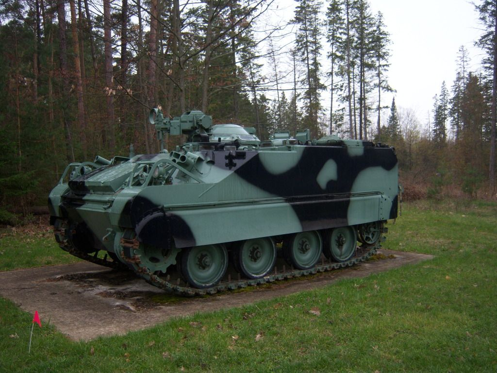 Armour at Candian Forces Base Borden 100_7201