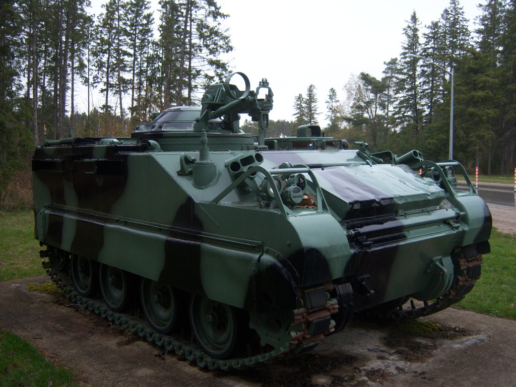 Armour at Candian Forces Base Borden 100_7202