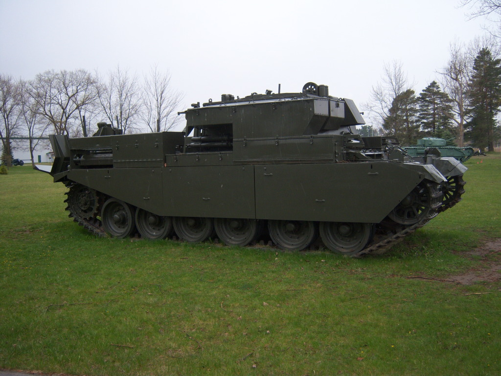 Armour at Candian Forces Base Borden 100_7204
