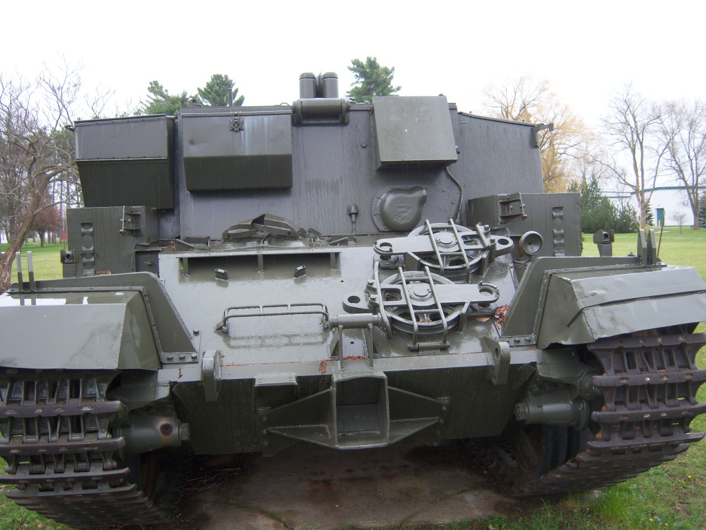 Armour at Candian Forces Base Borden 100_7206