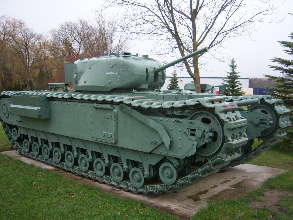 Armour at Candian Forces Base Borden 100_7209