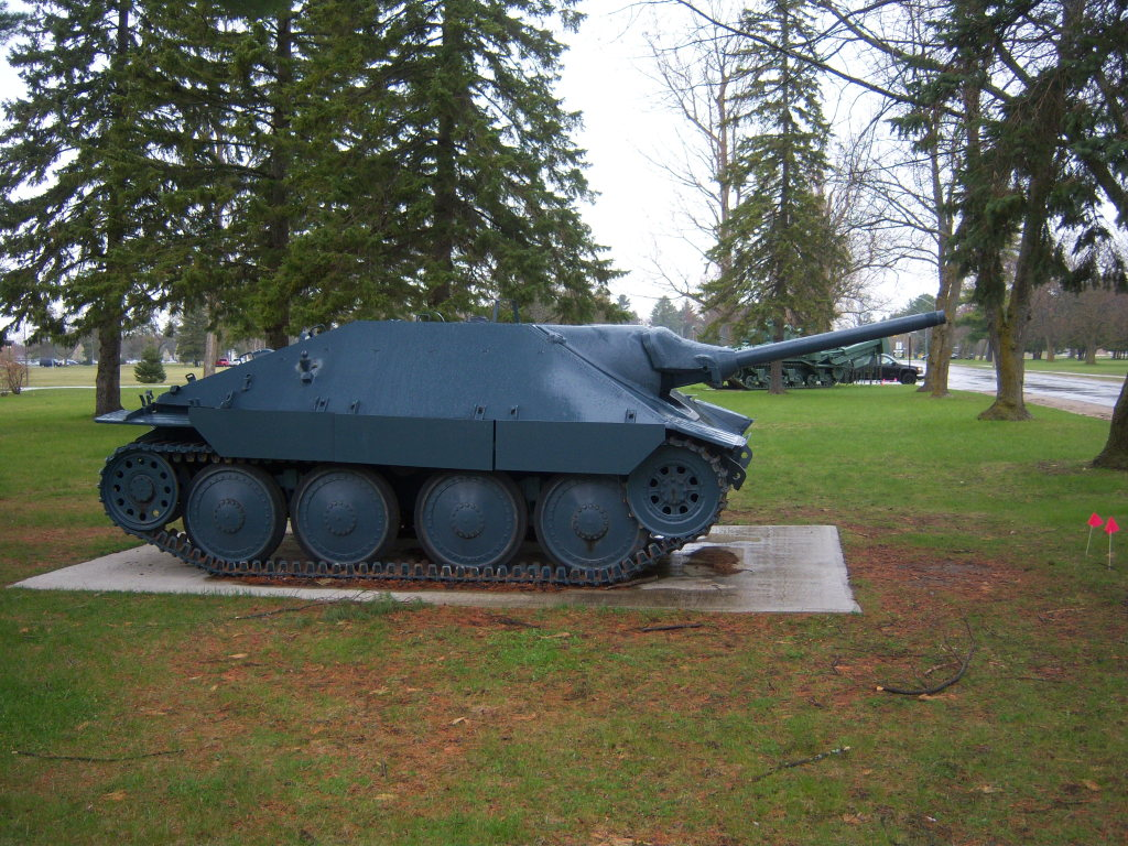 Armour at Candian Forces Base Borden 100_7228