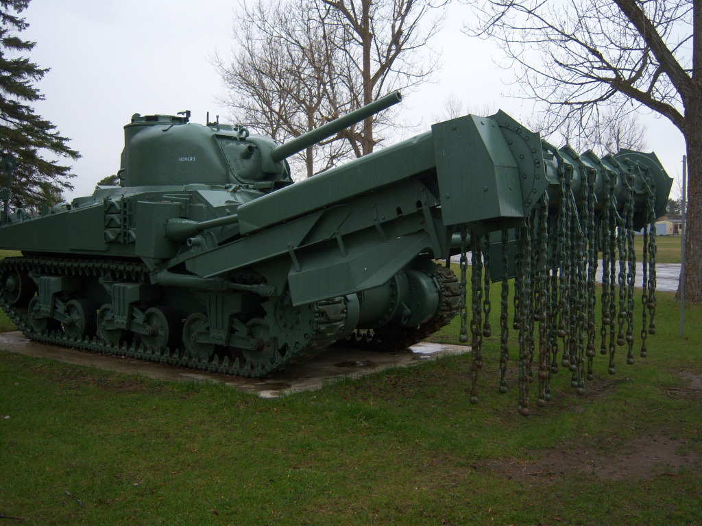 Armour at Candian Forces Base Borden 100_7233