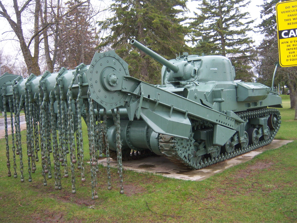 Armour at Candian Forces Base Borden 100_7235